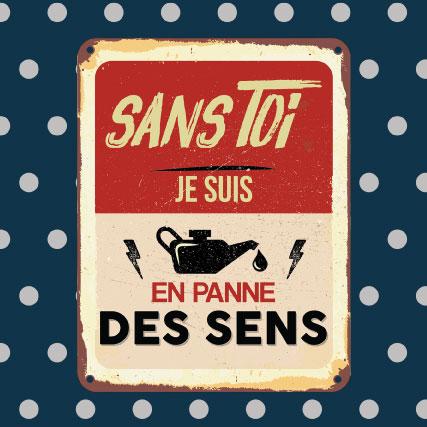 miamots-carte postale-Panne-des-sens-amour