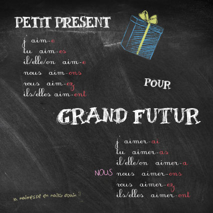 miamots-carte postale-petit-present-amour