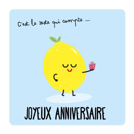 citron anniversaire