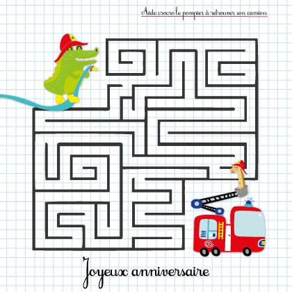 labyrinthe pompier